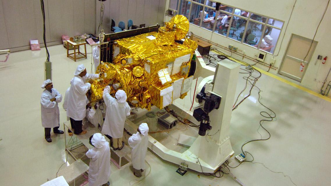 Přípravy indické družice Čandraján 1