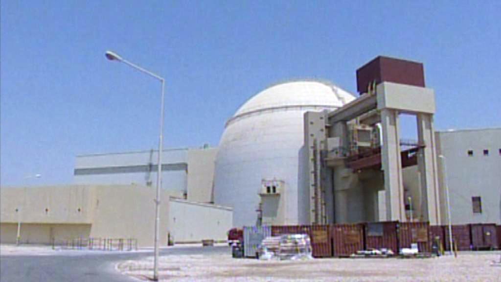 Íránský jaderný komplex Búšehr