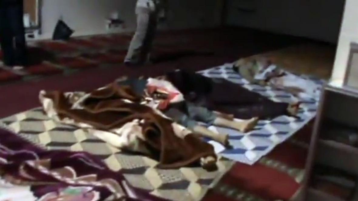 Oběti masakru v Húlá