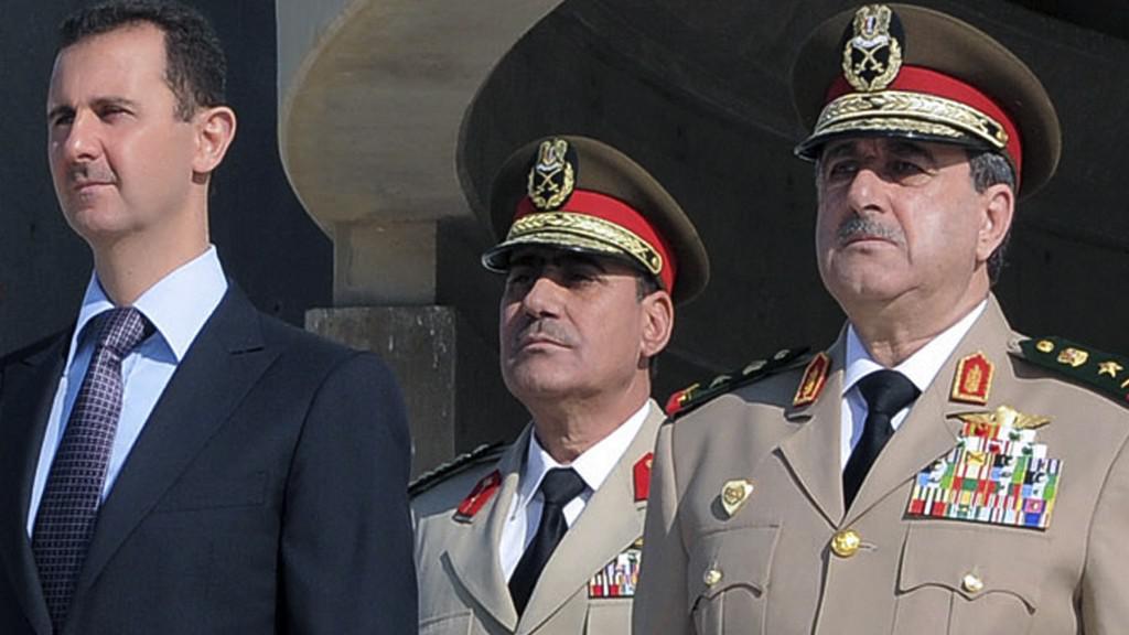 Bašár Asad a Dáud Radžha