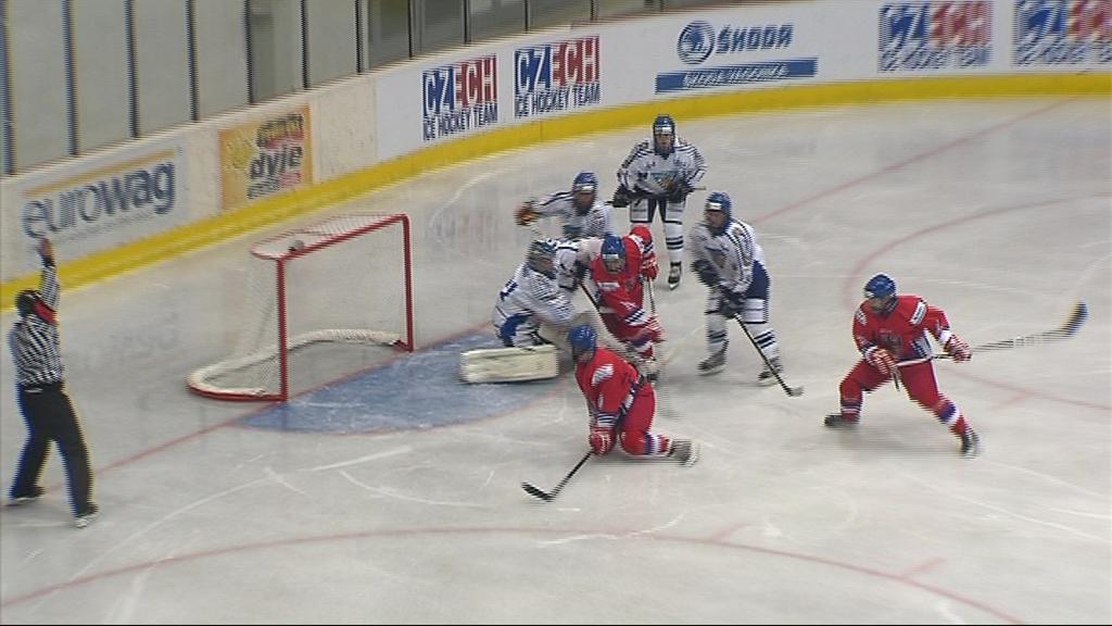 V druhé třetině si Češi proti Finům vytvořili obrovský tlak, do vítězného konce ale zápas nedotáhli