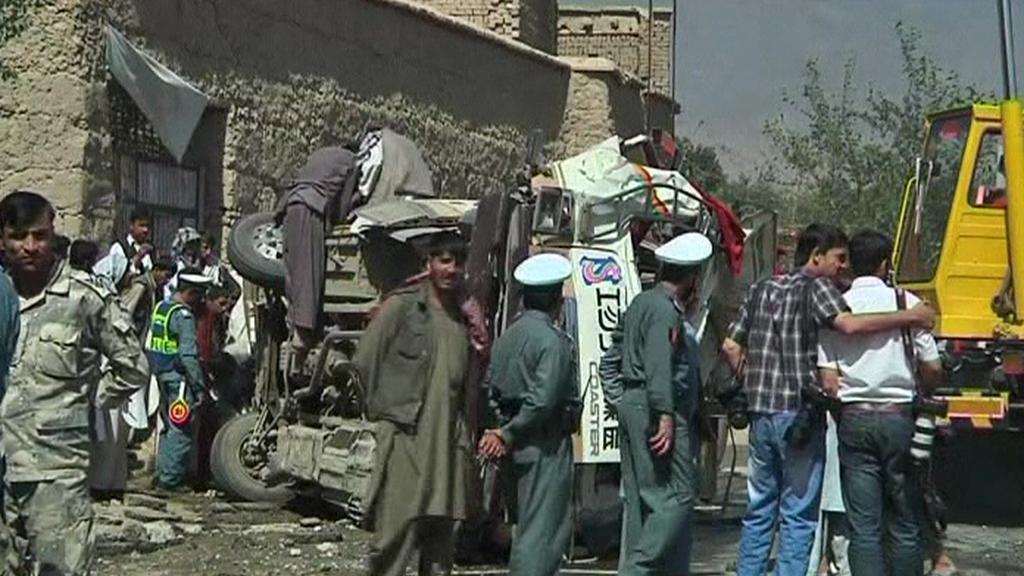 Útok v Afghánistánu