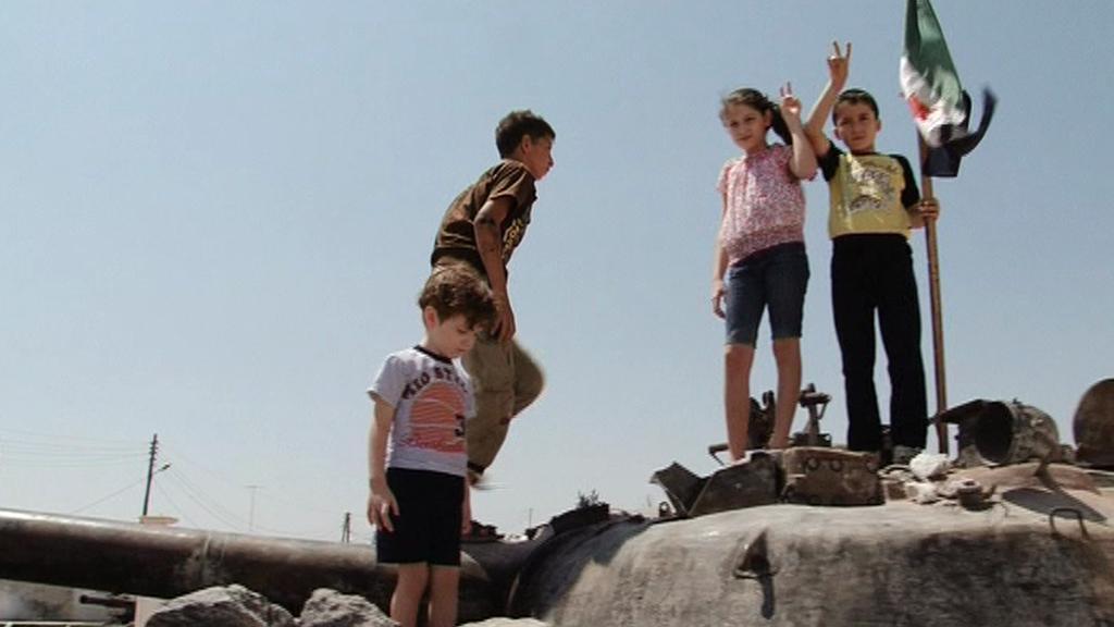 Děti v Azazu