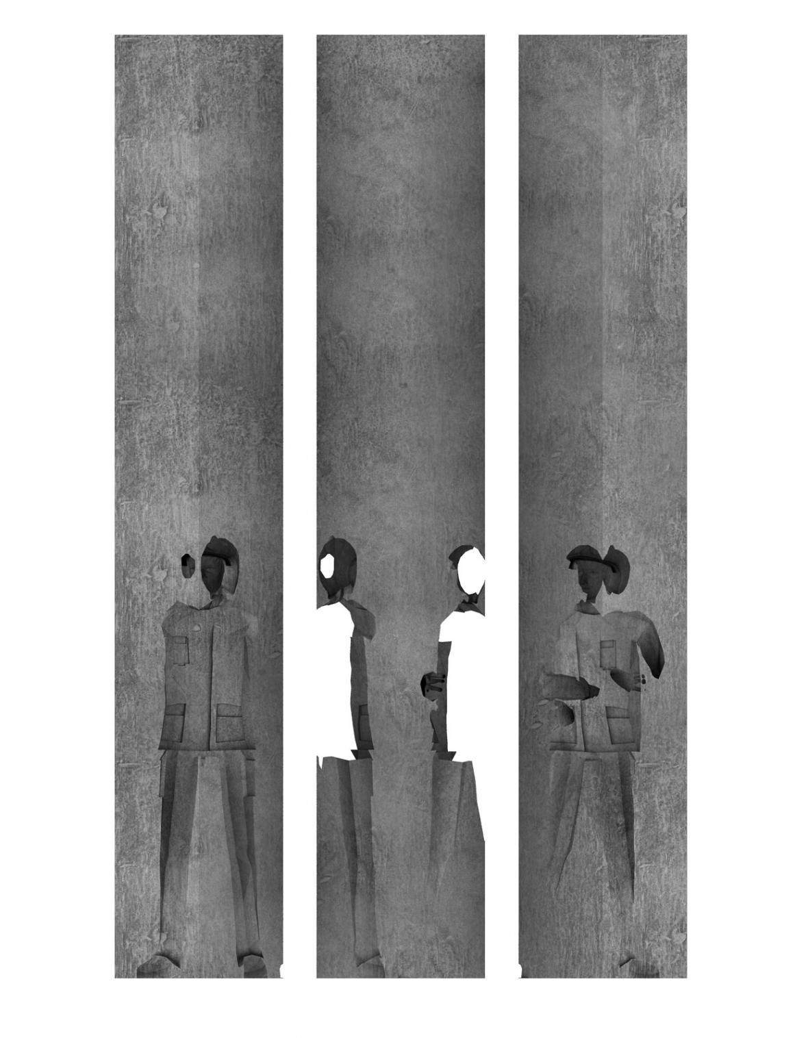 Návrh památníku dvou zemřelých hasičů