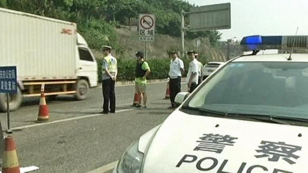 Pátrací akce čínské policie
