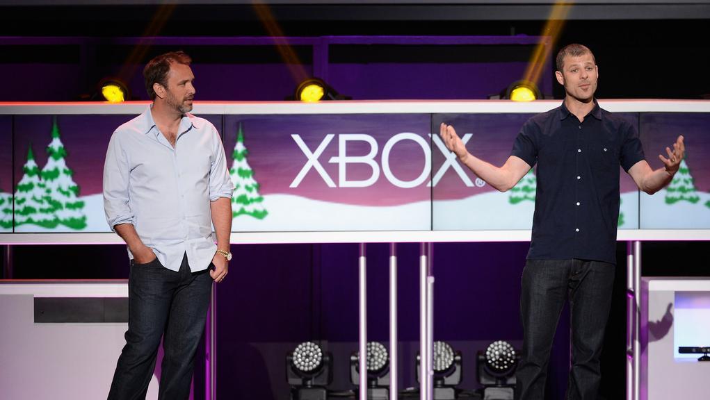 Tvůrci seriálu Trey Parker (vlevo) a Matt Stone