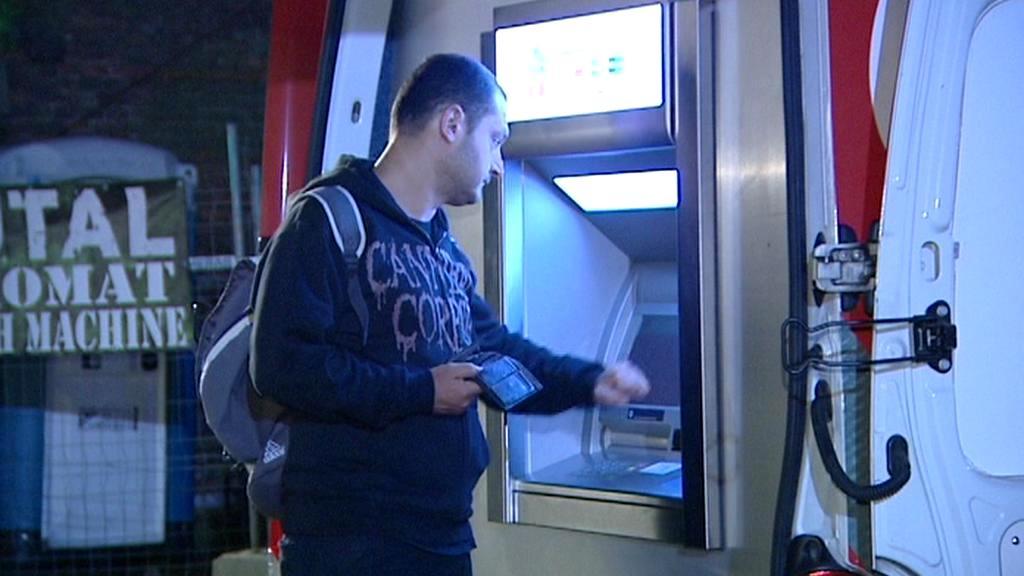Mobilní bankomat