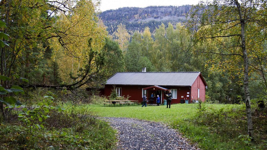 Chata na ostrově Utöya
