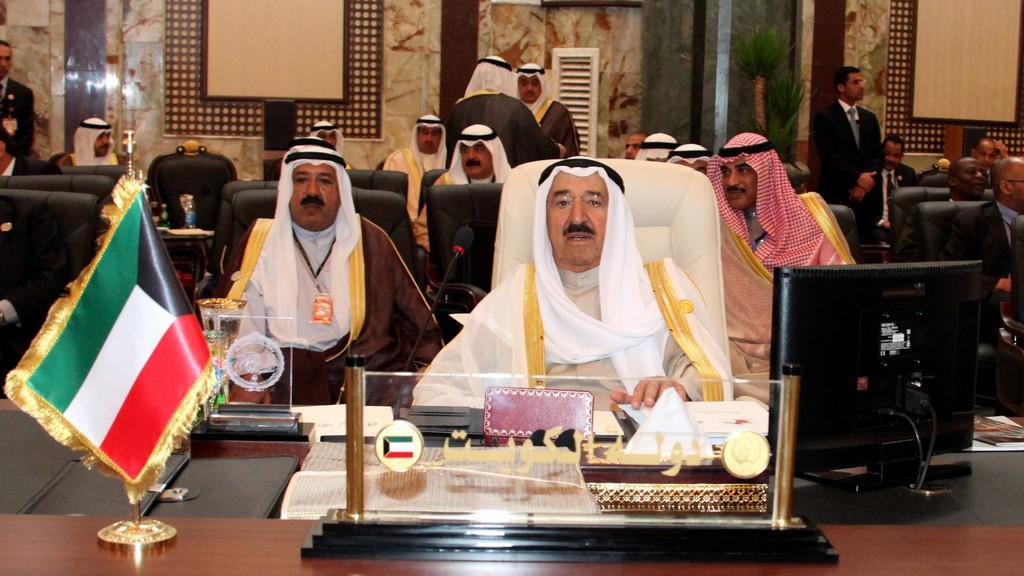 Kuvajtský emír Šabah Al Ahmad Al Šabah