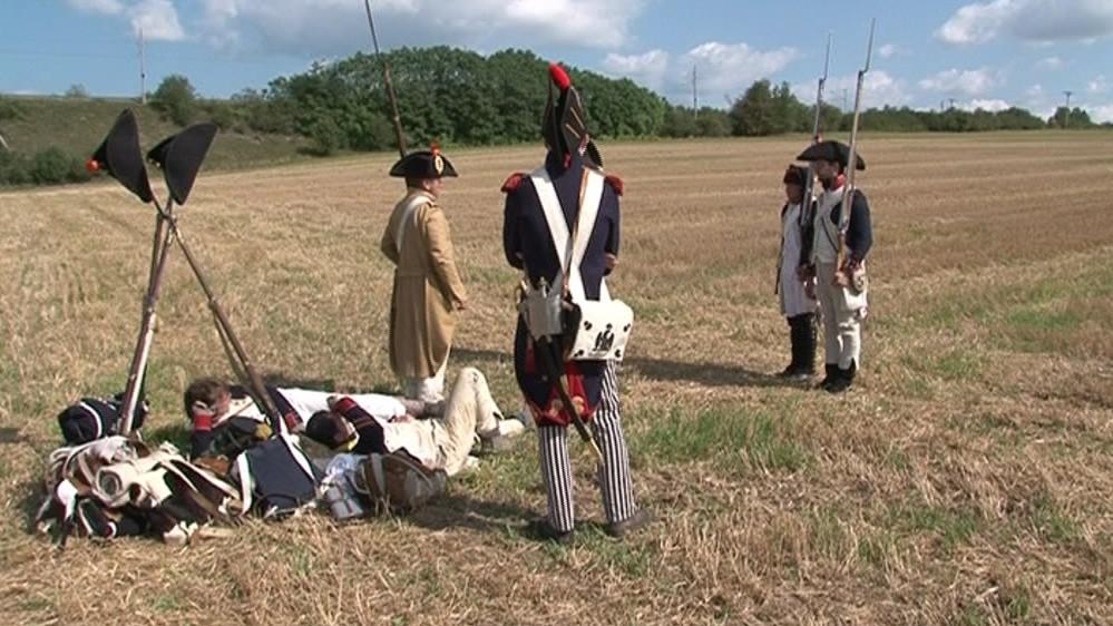 Pochod z Mohyly míru měl přiblížit život vojáků za Napoleona