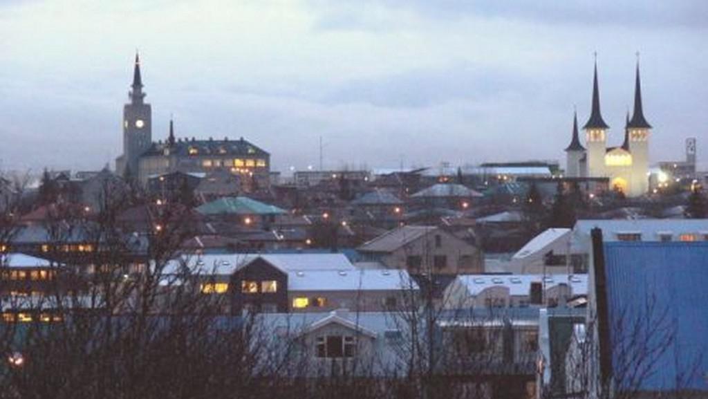 Hlavní město Islandu Reykjavík