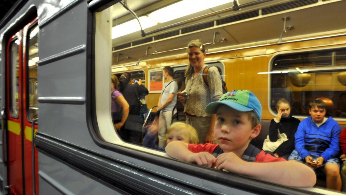 Výročí trasy A pražského metra