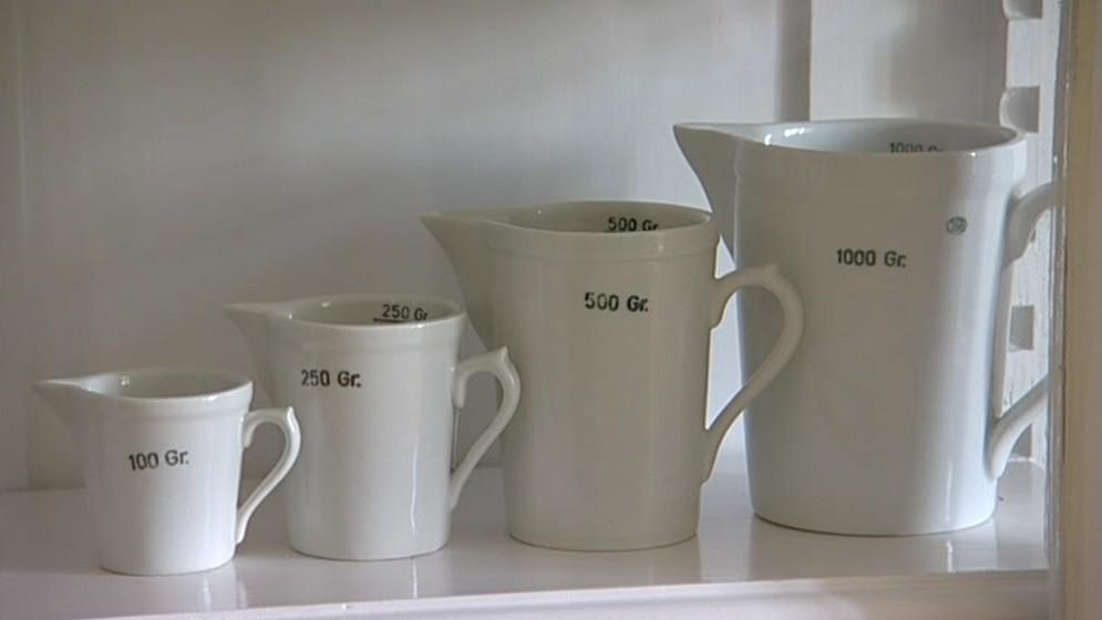 Výstava ukazuje, jaká měřidla dřív v domácnostech hospodyňky používaly