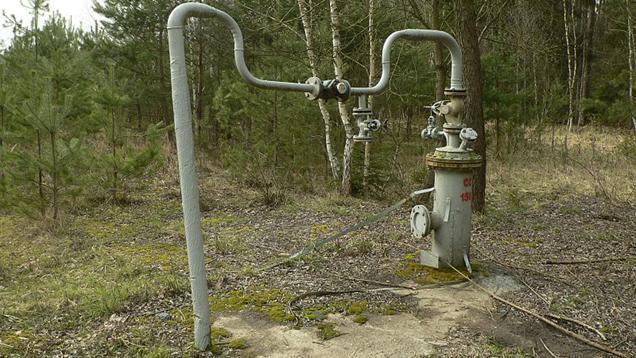 Pozůstatky těžby uranu v okolí Stráže pod Ralskem