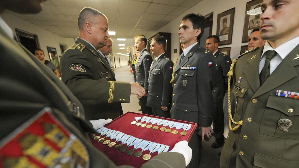 Armáda vyznamenala vojáky z mise v Afghánistánu