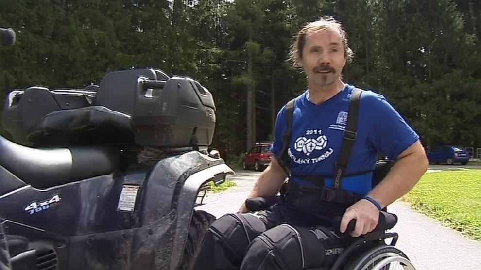 Ani na vozíku se handicapovaní nemusí vzdát svých koníčků