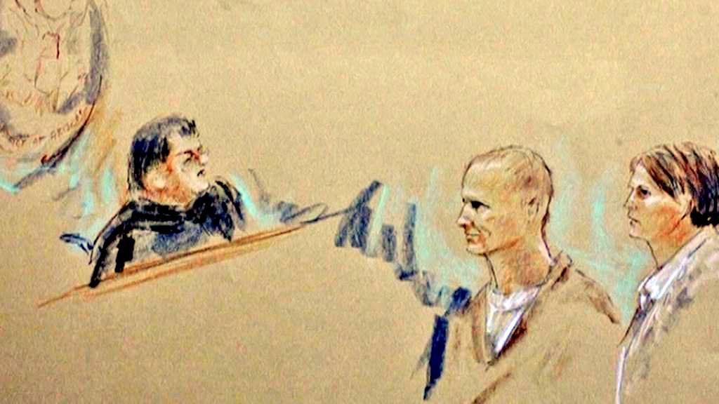 Jared Loughner před soudem