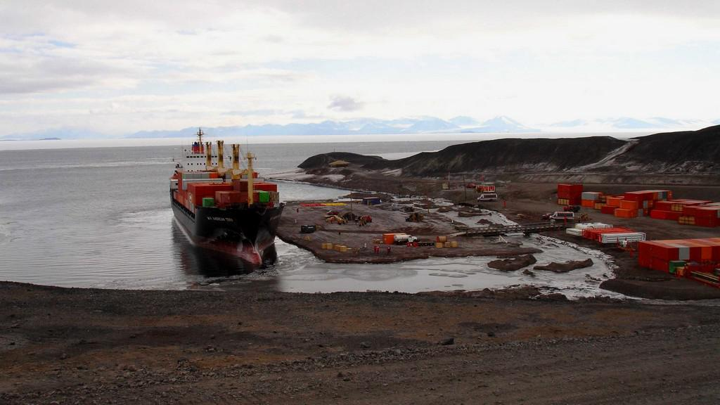 Stanice McMurdo na Antarktidě