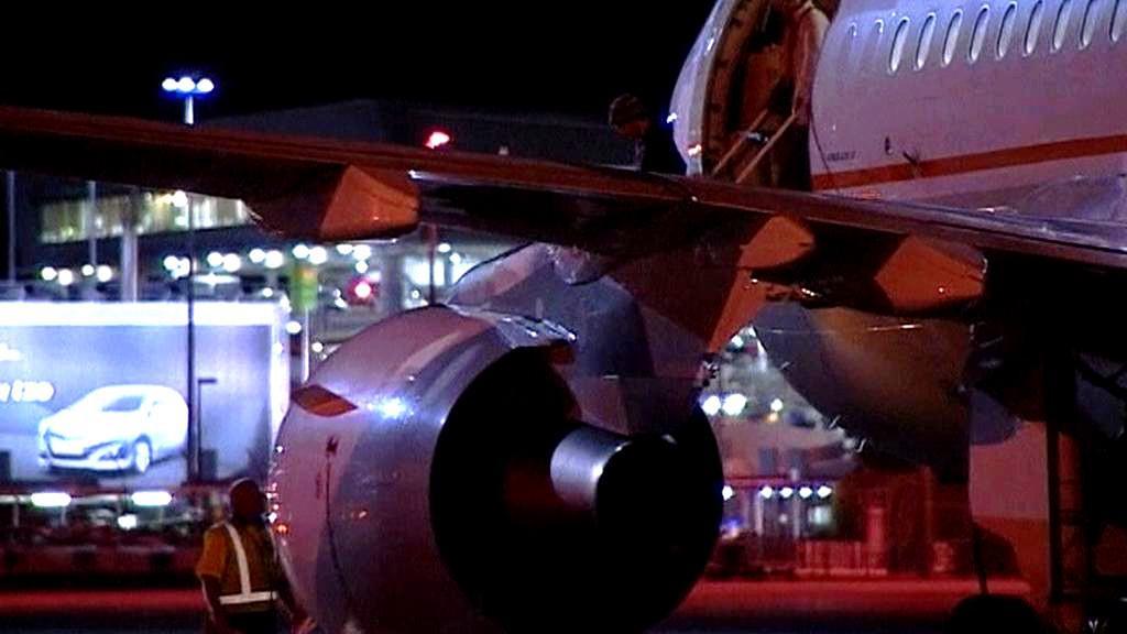 Letadlo se zraněným
