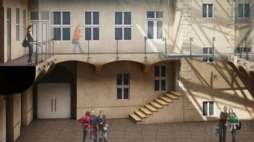 Projekt nového sídla Knihovny Václava Havla