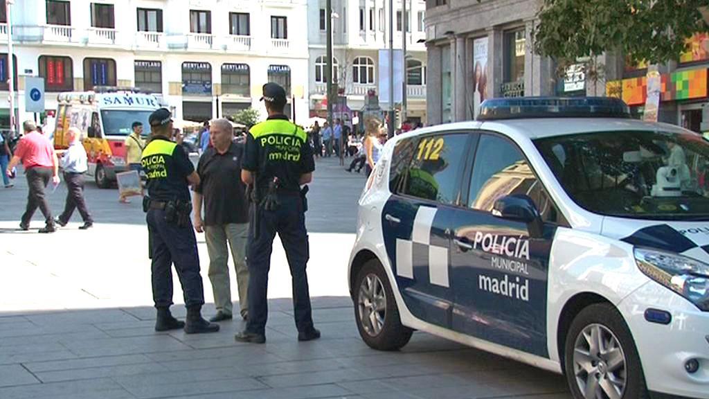Madridská policie