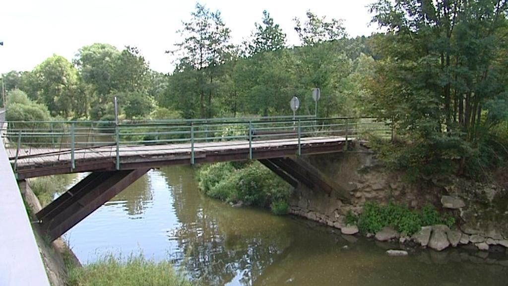 Nebezpečný most u Vladislavi
