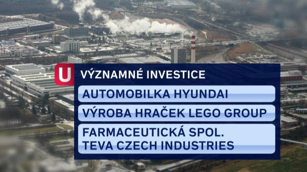 Významné investice domluvené CzechInvestem