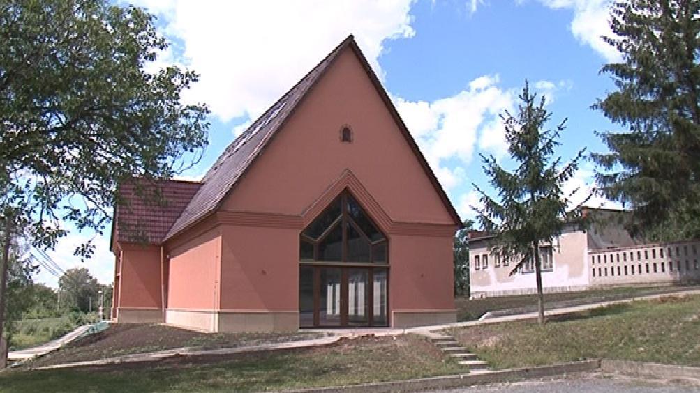 Nová kapucínská kaple v Újezdu u Brna