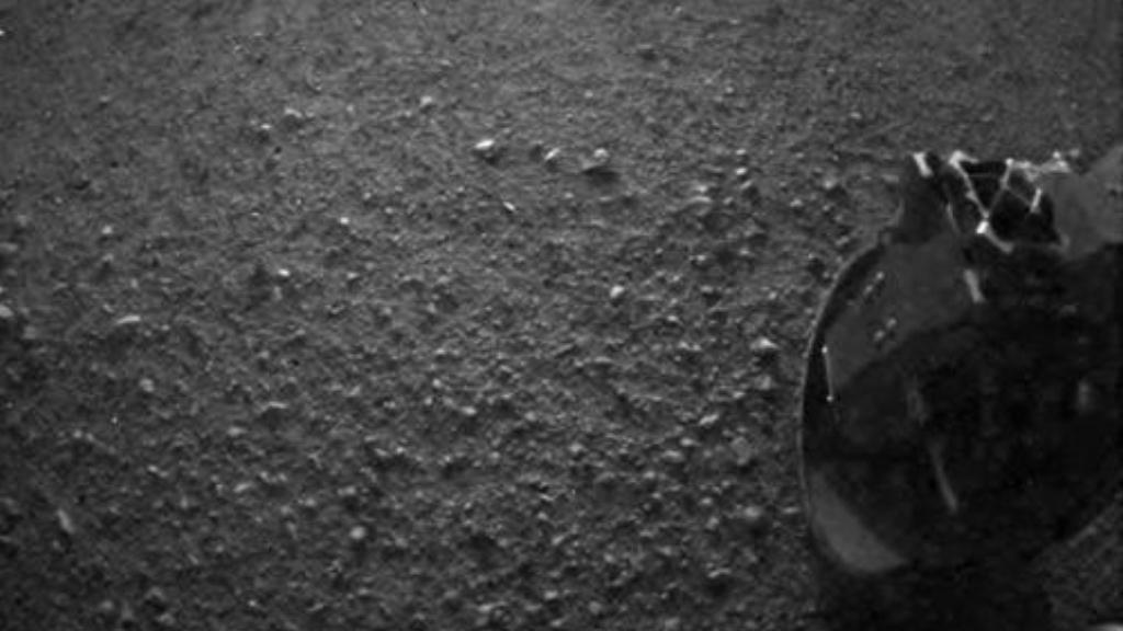 Jeden z prvních obrázků Marsu