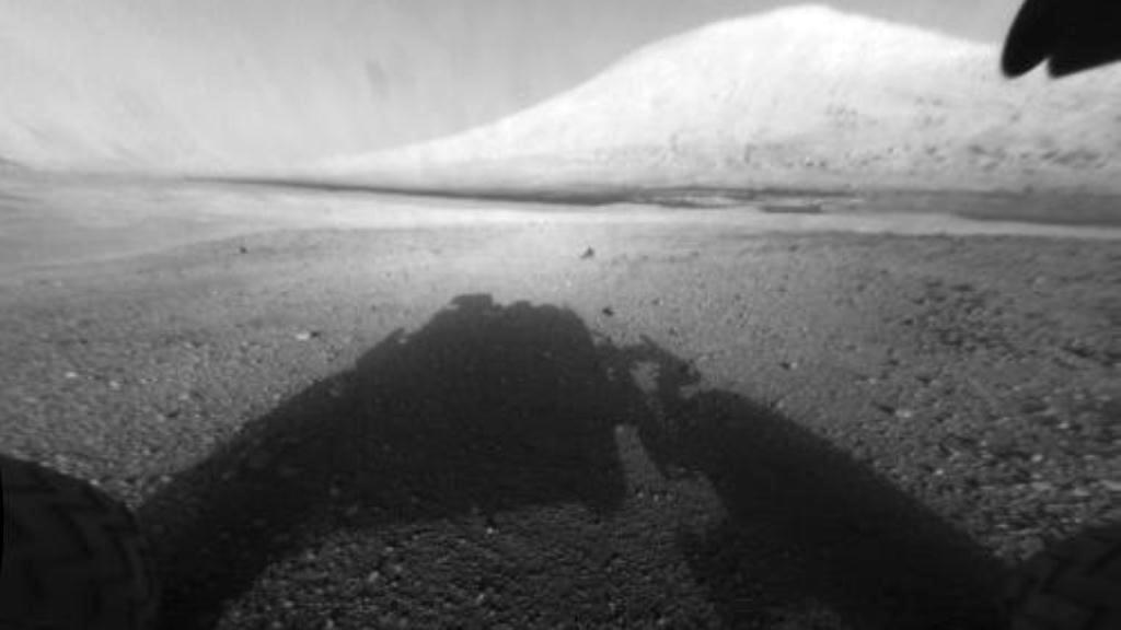 Mount Sharp na Marsu