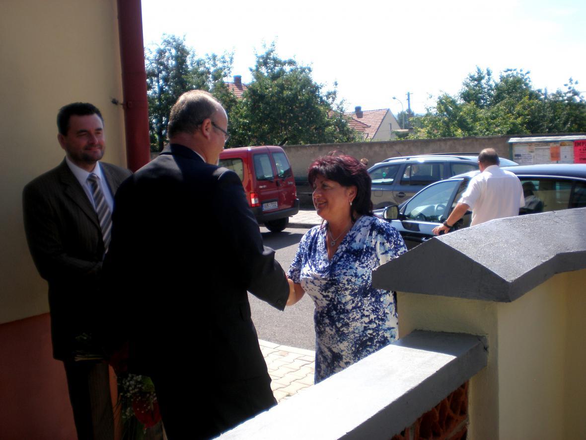 Z vyhlášení výsledků Vesnice roku v Košticích
