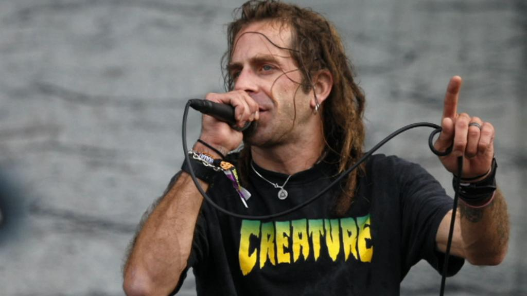 Zpěvák skupiny Lamb of God Randy Blythe