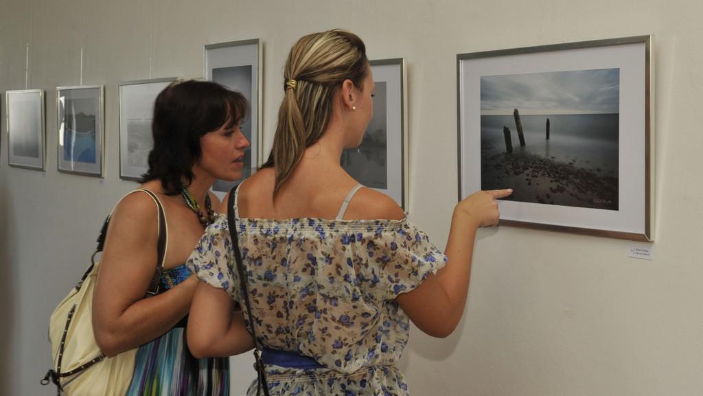Z výstavy Fotografie a objekty - přátelství bez hranic
