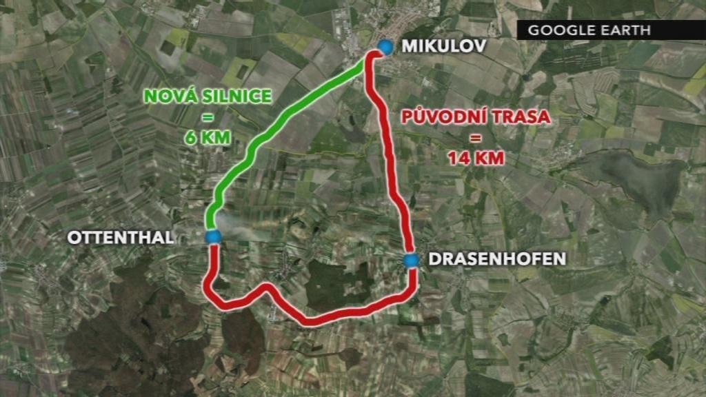 Nová silnice zkrátí řidičům cestu o osm kilometrů