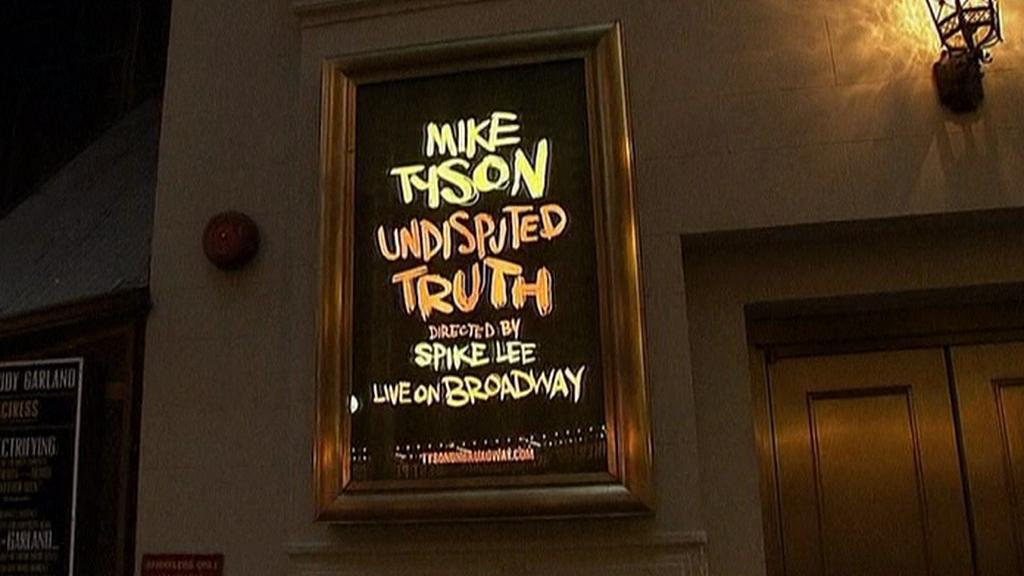 Mike Tyson na Broadwayi