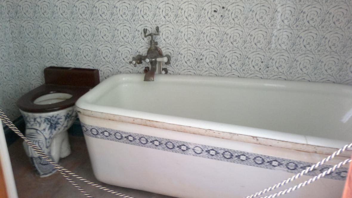 Koupelna na zámku Valtice