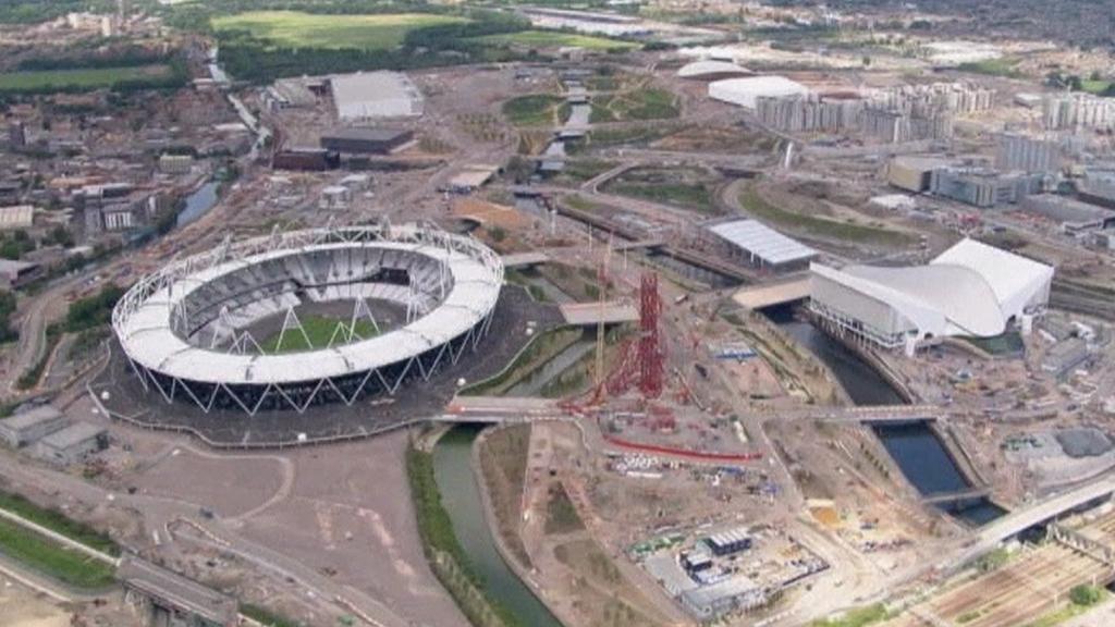 Olympijské centrum v londýnském Stratfordu