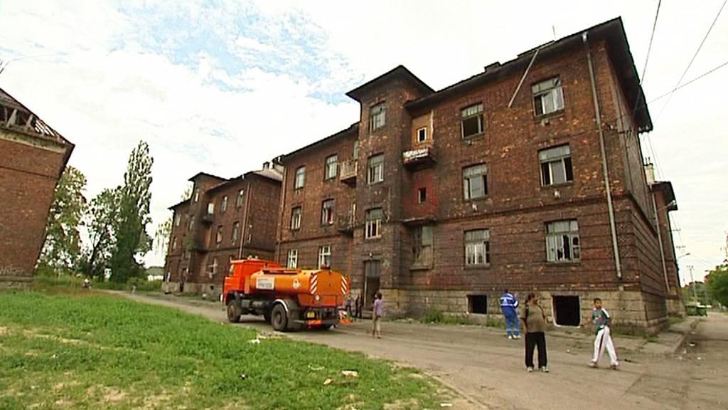 Ostravské ghetto Přednádraží