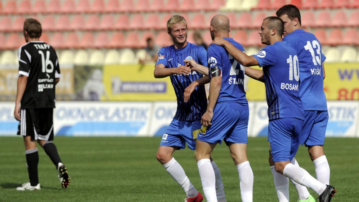 Radost fotbalistů Liberce
