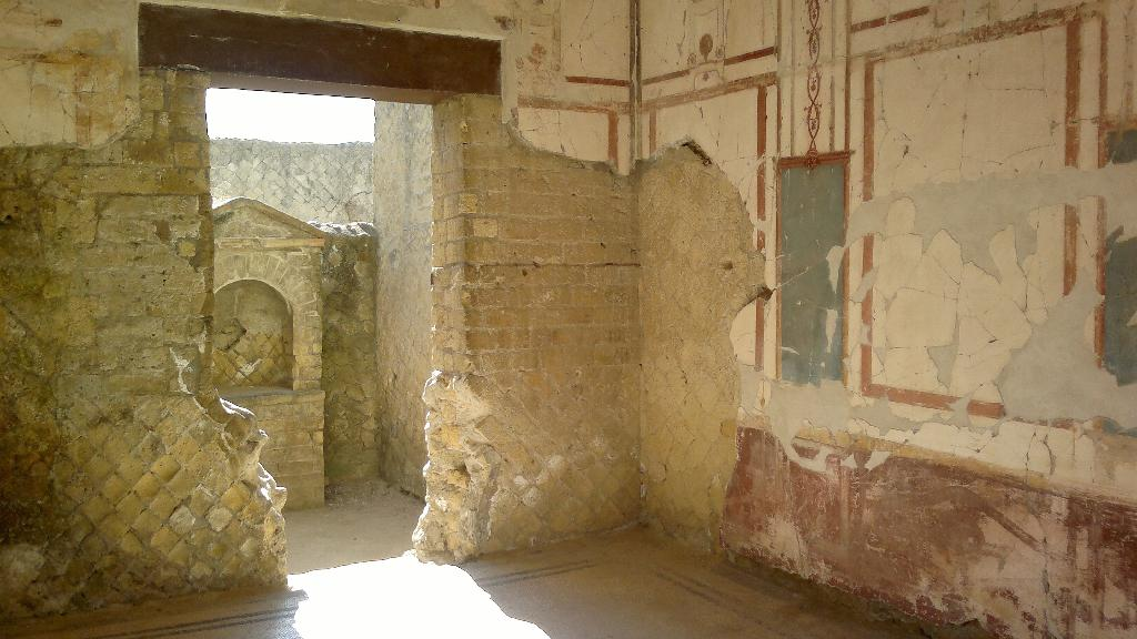 Interiér domu v Herculaneu