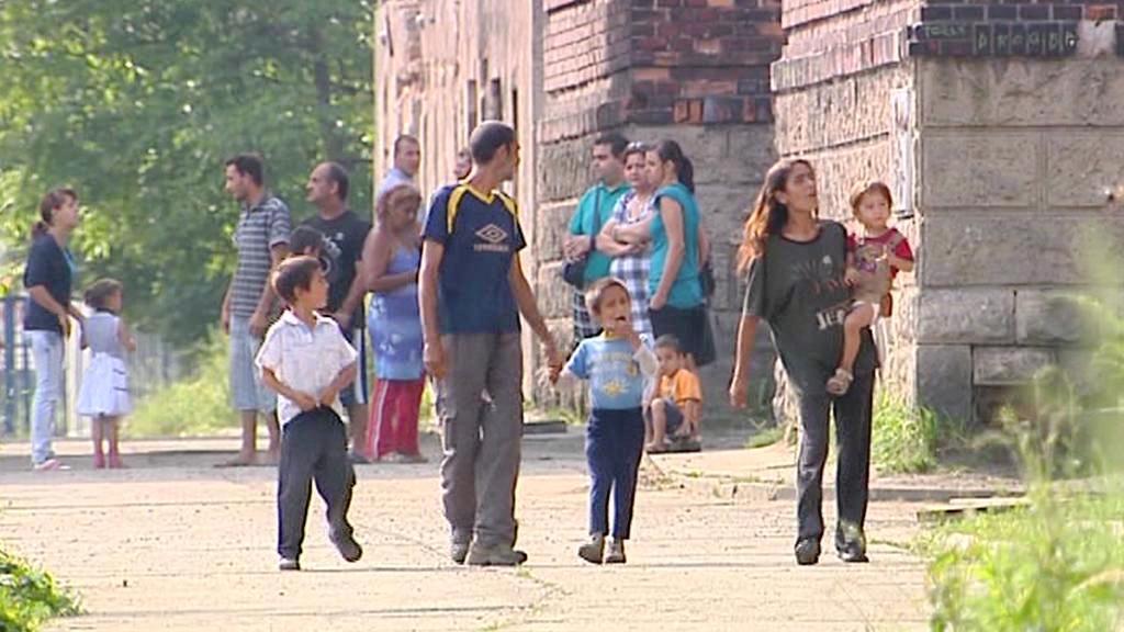 Obyvatelé ghetta v Přednádraží