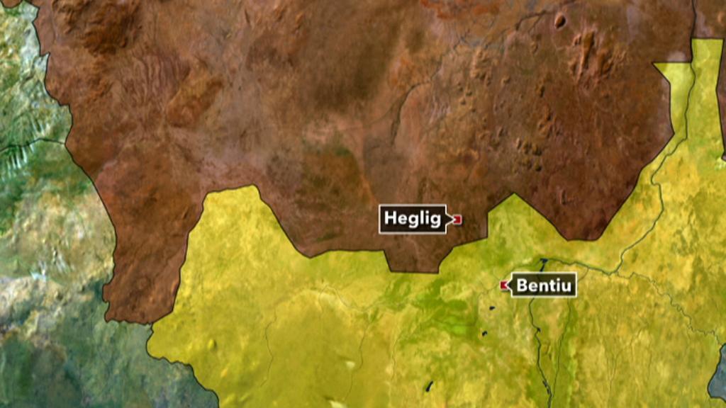 Sporné oblasti v Súdánu