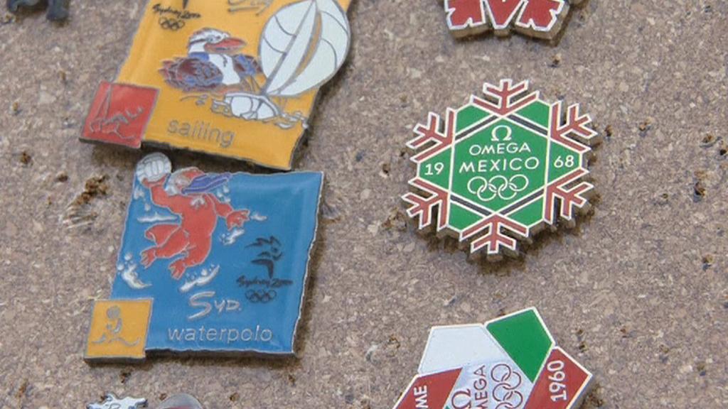 Veletrh sběračů odznaků v Londýně