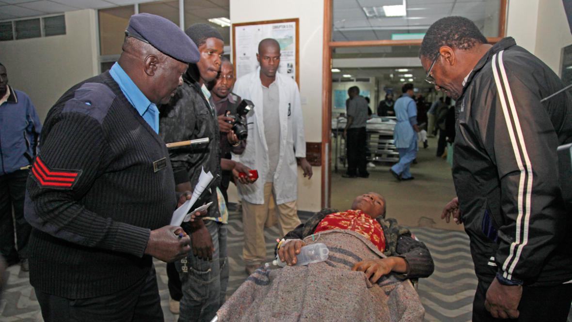 Zranění po útoku keňského sebevražedného atentátníka