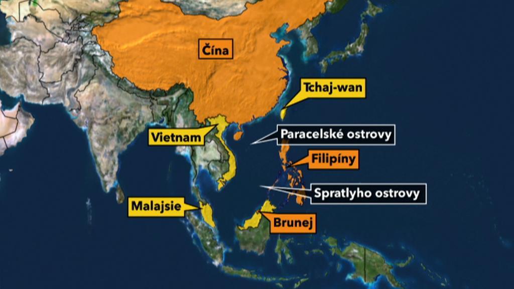 Asijský spor o naleziště ropy