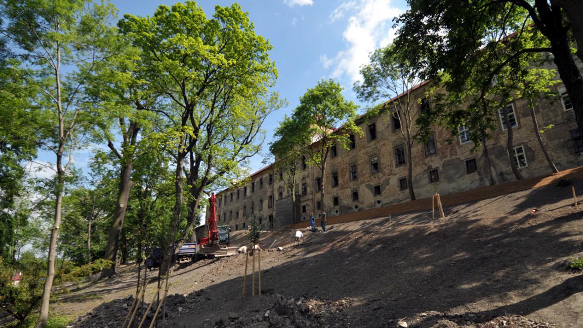 Buštěhradský zámek - rekonstrukce