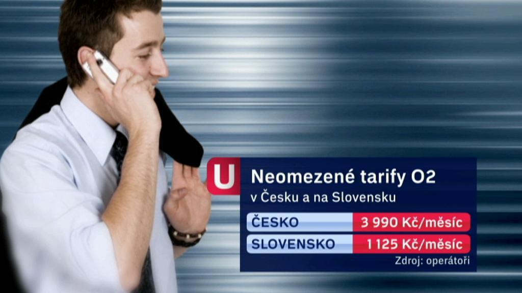 Srovnání tarifů O2