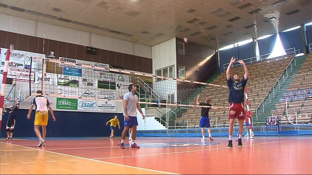 Brněnští volejbalisté začali přípravu v domácí hale