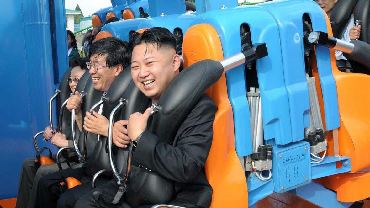 Kim Čong-un na horské dráze