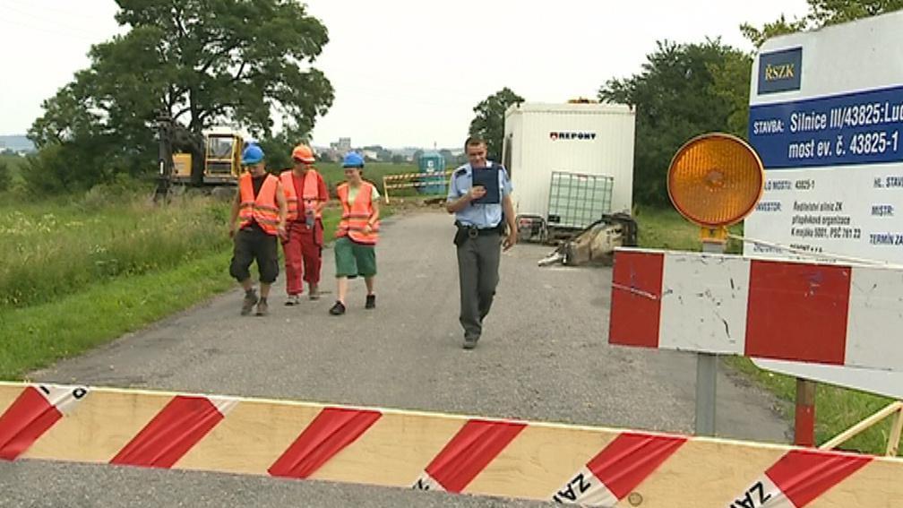 Dělníci narazili na nevybuchlou munici